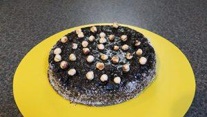 تهیه کیک براونی یک کیک خیس شکلاتی خوشمزه در فودآکادمی آشپزی با ایمان