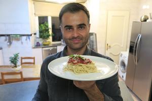 طرز تهیه پاستا ایتالیایی با سس سفید و قرمز خانگی در فود آکادمی آشپزی  با ایمان