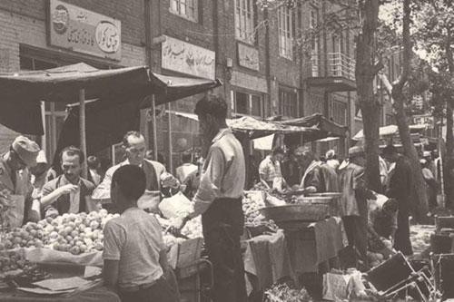 بازار-تهران-قدیما